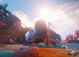 美人鱼的传说 《猎魔军团》场景之星辰海岸