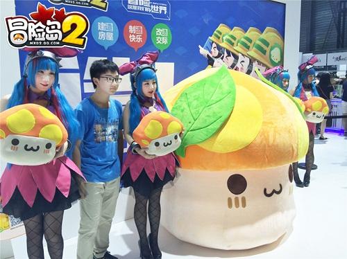 """《冒险岛2》深受玩家喜爱的小伙伴""""花蘑菇"""